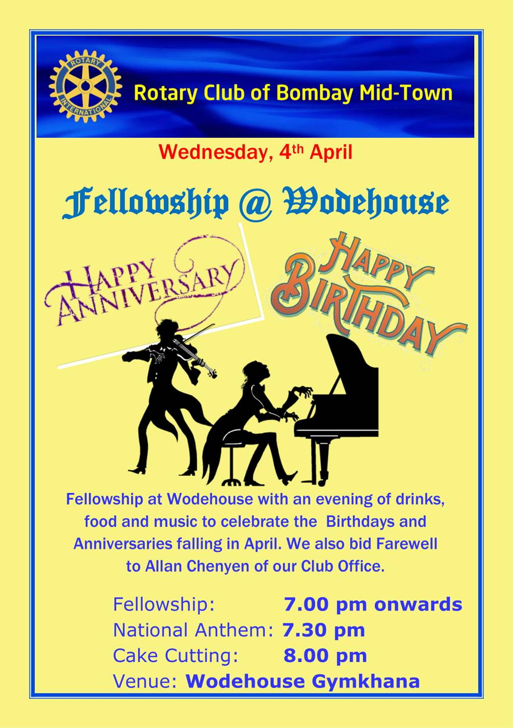 Fellowship at Wodehouse