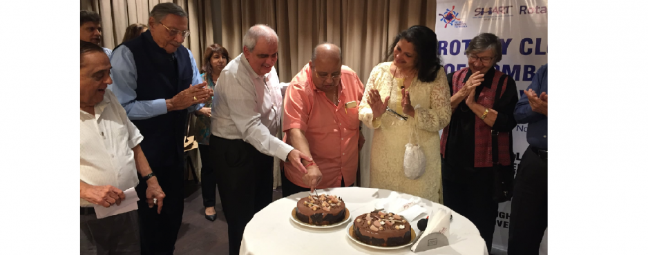 Rotary Club of Bombay Mid-Town hosted a Fellowship at Wodehouse Gymkhana on 4th Sept 2019
