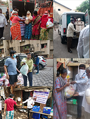 COVID-19 RELIEF PROGRAMS done by The Rotary club of Bombay Mid-town